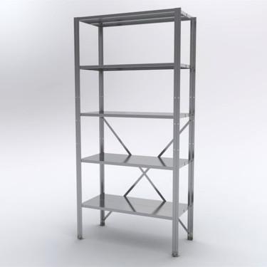 Купить металлический стеллаж на балкон